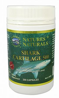 Australian Remedy Shark Cartilage 500 - žraločia chrupavka 200 kapslí