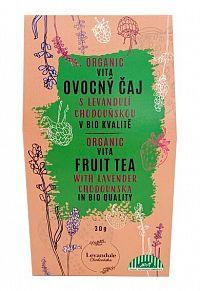 BIO Levandule Chodouňská BIO VITAFRUIT sypaný čaj s Lavender Chodounský 30 g