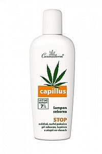 Cannaderm Cannaderm Capillus seborea šampón 150 ml