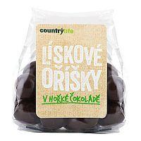 Country Life Lieskové oriešky v horkej čokoláde 100 g