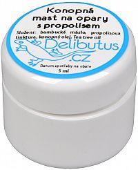 Delibutus Konopná masť na opary s propolisom 4 ml