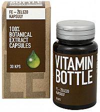 Goodnature Železo VitaminBottle 30 kapsúl