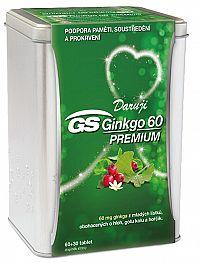 GS Ginkgo 60 Premium 60+30 tabliet darček 2019