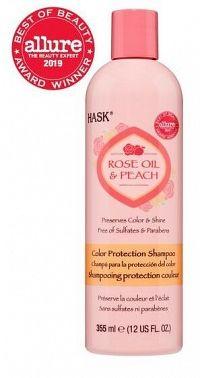 Hask Šampón pre farbené vlasy - růž.olej-broskyňa 355 ml