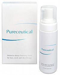 Herb Pharma Pureceutical - Intenzívna hĺbková čistiaca pena na tvár, krk a dekolt 125 ml