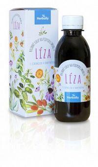 Herbally LÍZA bylinný sirup na podporu imunity s echinaceou a rakytníkom 200 ml