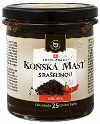 Herbamedicus Konská masť s rašelinou hrejivá v sklenenej dóze 300 ml