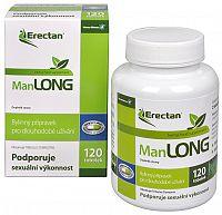 Herbo Medica Erectan Manlong 120 tob. - ZĽAVA - KRÁTKA EXPIRÁCIA 29.9.2019