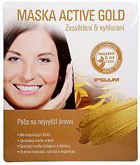 Ipsuum Active Gold hydrogelová maska 25 g