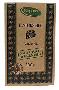 Kappus Natu ral wellness mydlo 100 g 3-1425 Aktívne uhlie