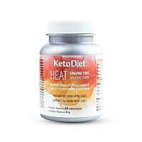 KetoDiet KetoDiet HEAT- spalovač tuků (60 tablet)