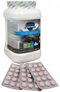 KetoDiet Proteínový nápoj pre mužov na 1 týždeň 1 000 g + príchute Malina 3 x 15 tbl.