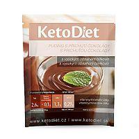 KetoDiet Proteínový puding s čokoládovou príchuťou 7 x 27 g