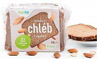 KetoLife Proteínový chlieb - S mandľami 250 g