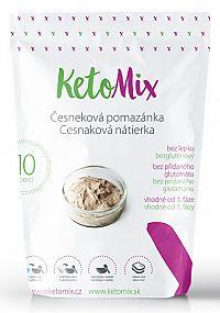 KetoMix Cesnaková nátierka Ketomix 300 g (10 porcií)