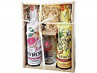 Kitl Syrob darčekové balenie (2 x 500 ml + pohár) grapefruit a zázvor