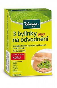 Kneipp 3 bylinky na odvodnenie 60 kapsúl