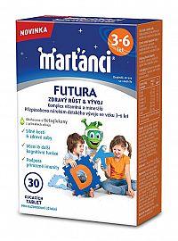 Marťánci Marťankovia Futura (3-6 rokov) 30 tbl.