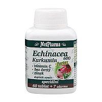 MedPharma Echinacea 600 Forte+kurkumin 67 tabliet