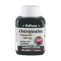 MedPharma Pestrec silymarín 200 mg 60 tbl. + 7 tbl. ZD ARMA