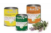 Moringa MIX Moringou oleifera s harmančekom 100 g + Moringou oleifera 180 kapsúl + Moringou oleifera so šalviou 100 g