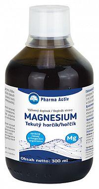 Natural Pharm Tekutý Horčíkmg + Vitamín C príchuť malina 300 ml