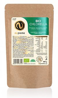 Nupreme Chlorella 100 g prášok BIO
