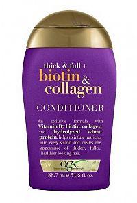 OGX Kondicionér pre husté a plné vlasy biotín-kolagén 88 ml mini