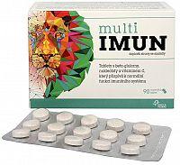 Omega Pharma MultiIMUN cmúľavé tablety s grepovou príchuťou 90 ks