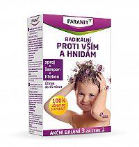 Omega Pharma Paranit sprej 60 ml + 40 ml ZADARMO + šampón 100 ml ZADARMO + hrebeň ZADARMO