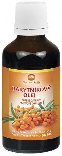 Pharma Activ Rakytníkový olej kvapky 50 ml