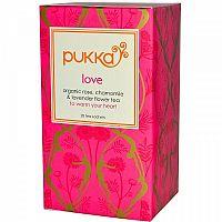 PUKKA Bio čaj Love Láska 20 x 1,2 g