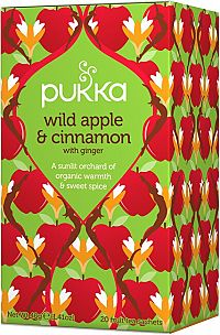 PUKKA Wild Apple & Cinnamon 20 vrecúšok