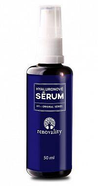Renovality Hyalurónovej sérum s dávkovačom 50 ml