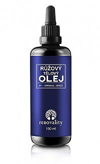 Renovality Masážny a telový olej Ruža 100 ml