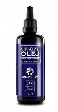 Renovality Šípkový olej za studena lisovaný 100 ml