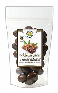 Salvia Paradise Mandle v mliečnej čokoláde 150 g