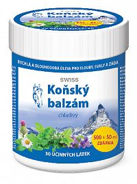 Simply You Konský balzam SWISS chladivý 500 ml + 50 ml ZD ARMA