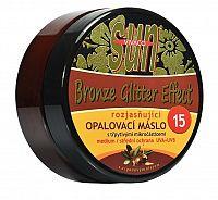 SUN Opaľovacie maslo Argan bronzer glitter OF 15 200 ml