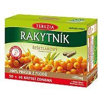 Terezia Company Rakytník rešetliakový prášok z plodov 60 kapsúl