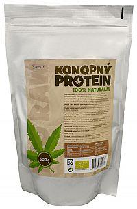 Vieste group Konopný proteín 100% naturálna bio 500 g