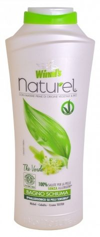 Winni´s NATUREL Bagno Schiuma The Verde pena do kúpeľa so zeleným čajom 500 ml