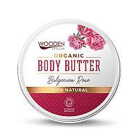 WoodenSpoon telové maslo Bulharská ruža 100 ml