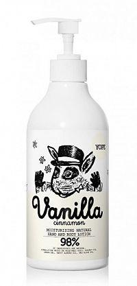 Yope Hydratačné telové mlieko Vanilka a škorica BIO 500 ml 300 ml
