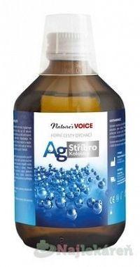 AG Koloidné Striebro ústna voda dezinfekcia ústnej dutiny 300 ml
