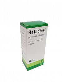 Betadine na dezinfekciu kože 120ml