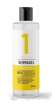 Dermagel hygiena gel s vôňou levandule 240 ml