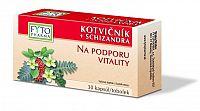 Fyto Kotvičník + Schizandra na podporu vitality 30 kapsúl