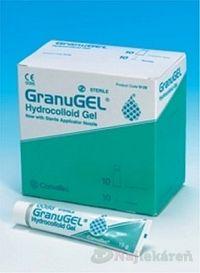 GranuGEL hydrokoloidný sterilný gél 15gx10ks