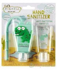 Jack N´Jill Antibakteriálny gél na ruky pre deti Dino 2 x 29 ml